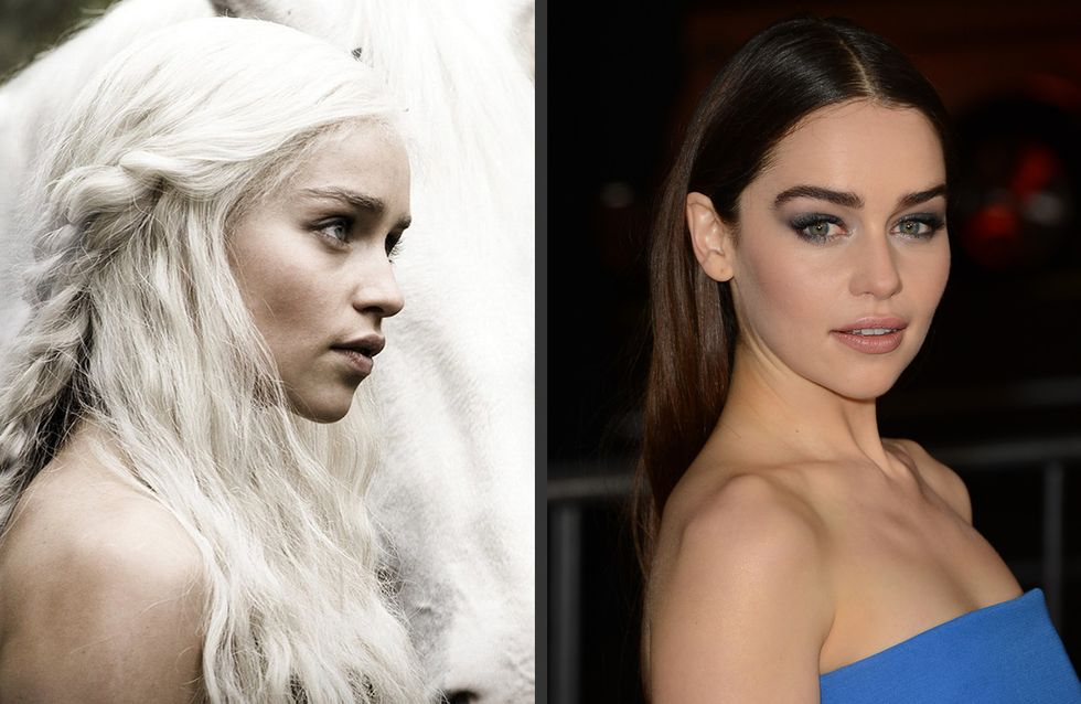 Emilia Clarke (Game of Thrones) : Elle devient brune !