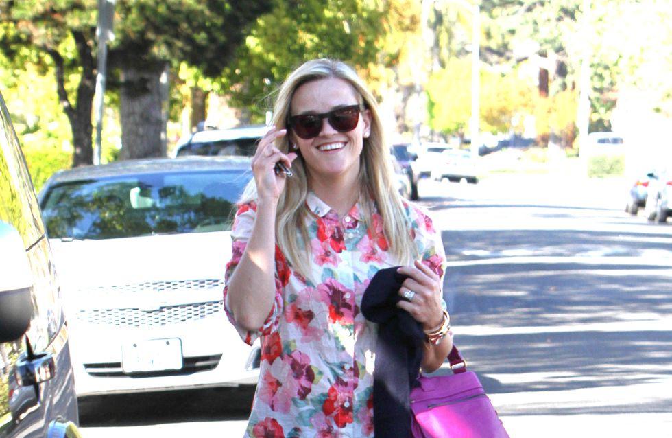 Reese Witherspoon : Copiez son look de printemps !