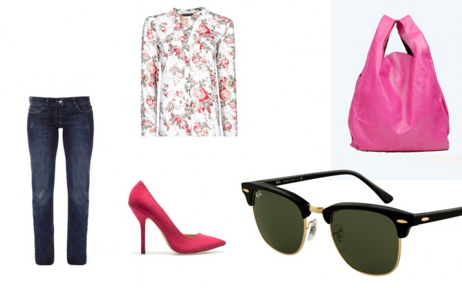 Look printemps Reese Witherspoon