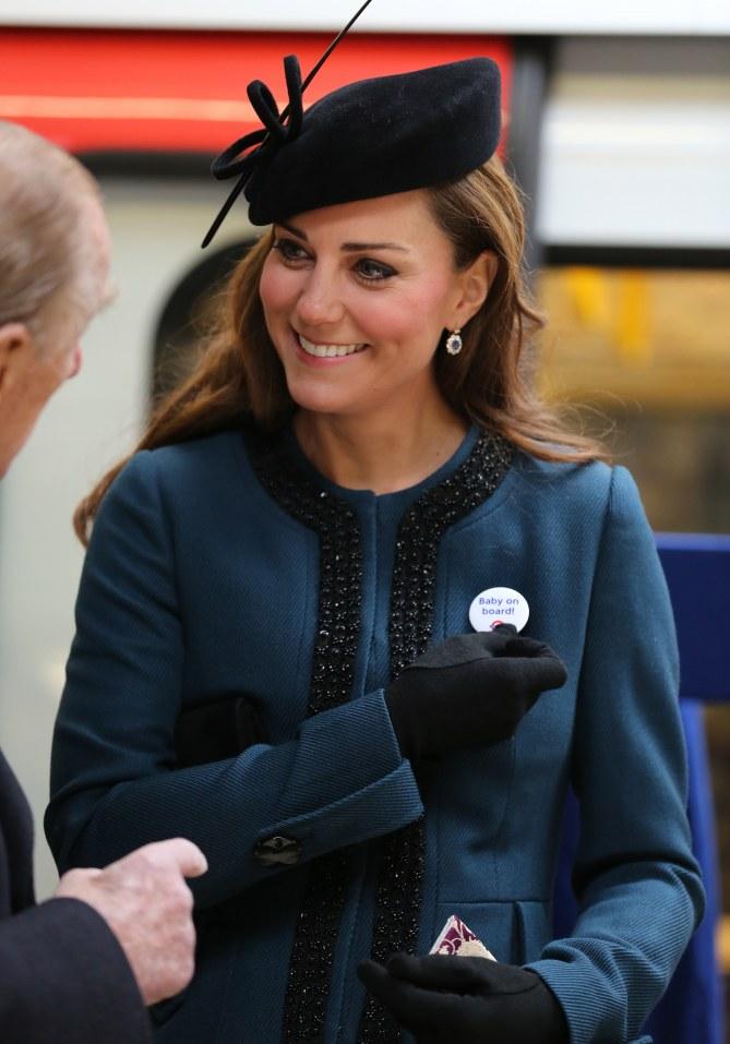 Kate Middleton prend le métro