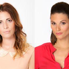 Déborah et Alexandra du Bachelor, présentatrices dans le talk show Desperate Stories