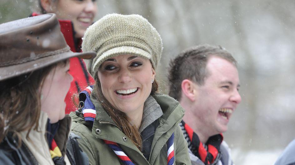 Kate Middleton : En visite chez les scouts !