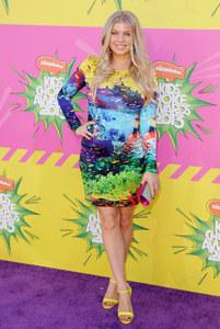 Fergie, enceinte, style, josh duhamel, kid's choice awards