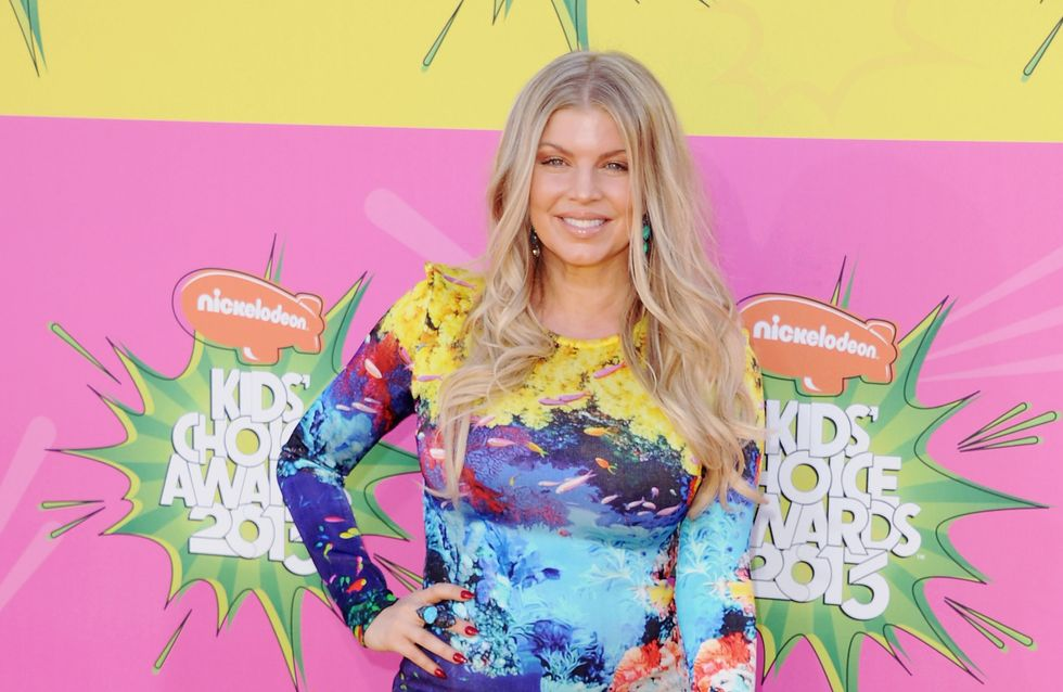 Fergie : Enceinte et radieuse aux Kid's Awards ! (Photos)