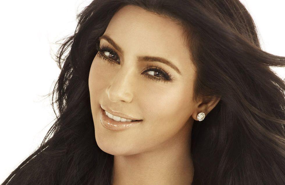 Kim Kardashian : Son astuce anti-stress (photo)