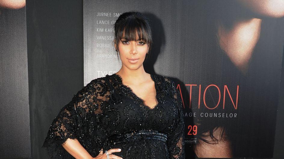 Kim Kardashian : Sa technique pour camoufler sa prise de poids (photos)
