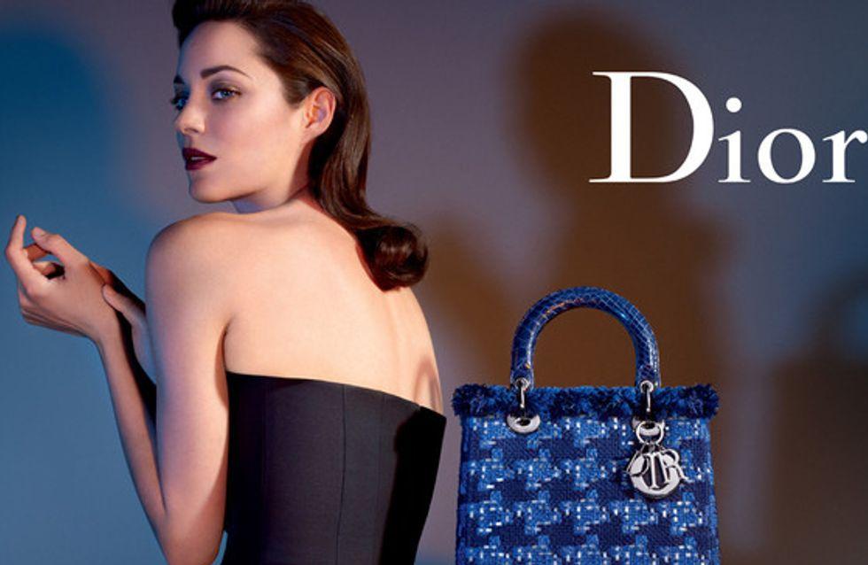 Marion Cotillard : Sublime dans la nouvelle campagne Dior ! (Photos)