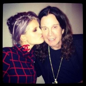 Kelly Osbourne et son père Ozzy Osbourne
