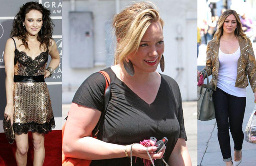 Hilary Duff : De l'anorexie au surpoids, sa silhouette au fil des années