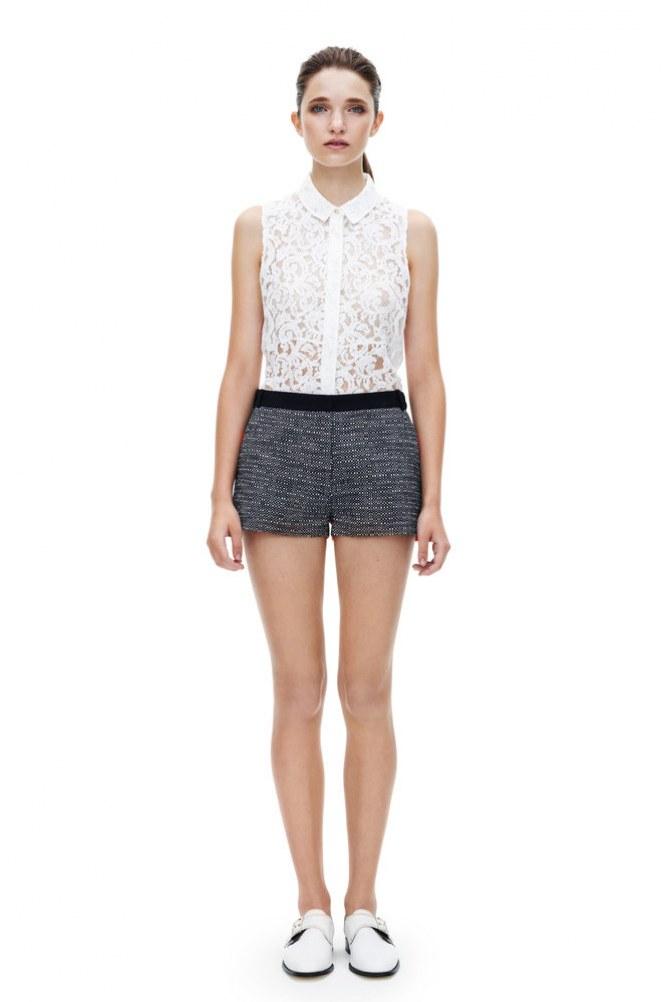 Mini short en Tweed - Victoria Beckham - 200 euros