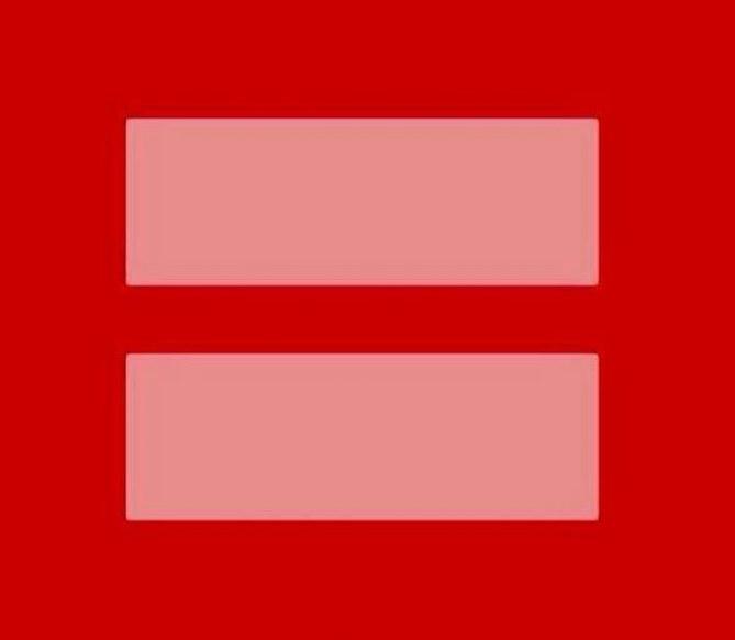 Mariage pour tous, signe égalité
