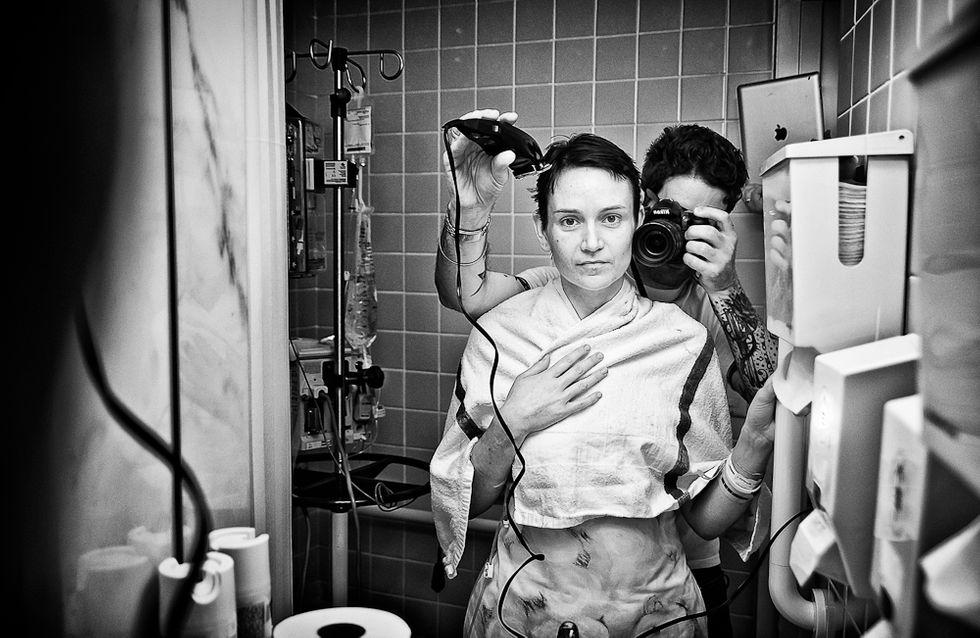 Cancer du sein : Un homme immortalise la lutte de sa femme en photos