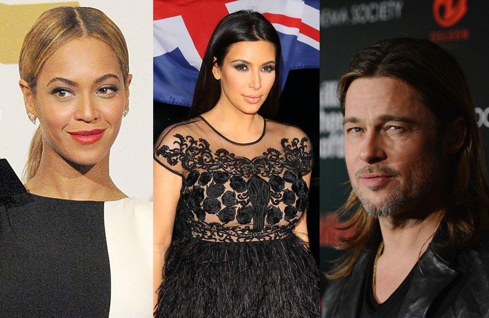 "Kim Kardashian, Beyoncé, Brad Pitt… : Les stars américaines disent ""oui"" au mariage pour tous !"