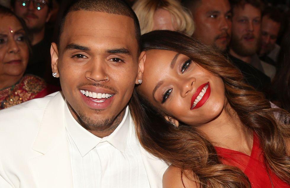 "Chris Brown : ""Rihanna m'a pardonné"""