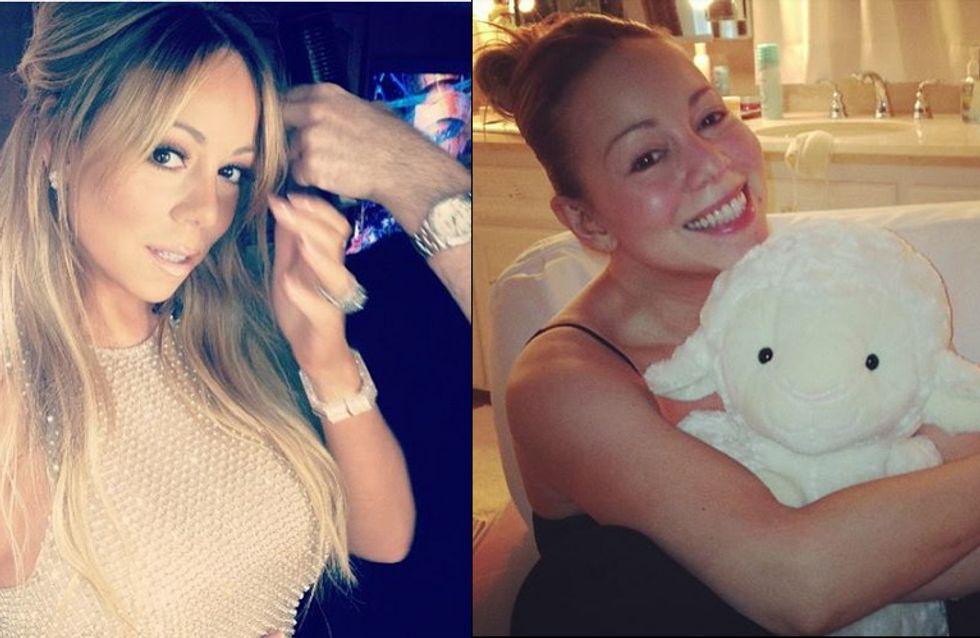 Mariah Carey : Sans maquillage, ça donne ça ! (photos)