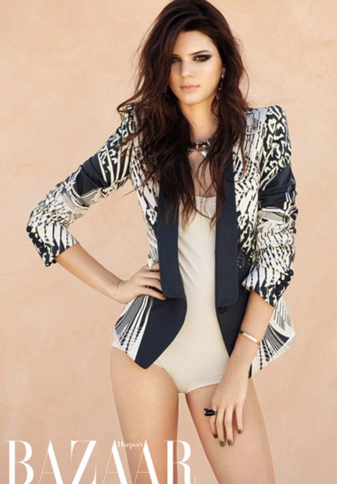 Kendall Jenner pour Harper's Bazaar