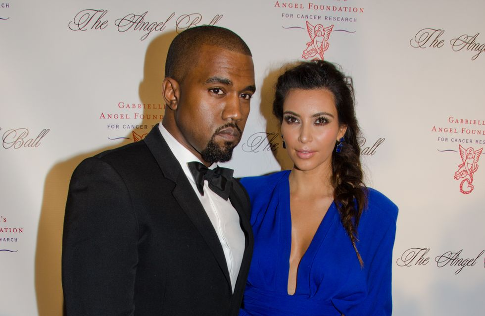 """Kim Kardashian : """"Mon enfant ne sera ni noir, ni blanc"""""""