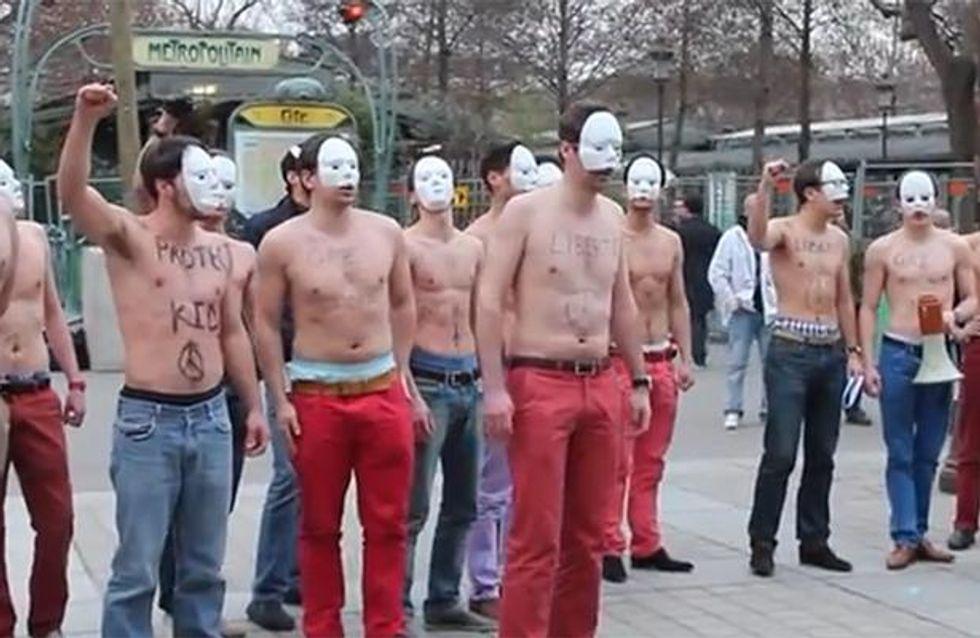 Mariage gay : Apres les Femen, place aux Hommen !