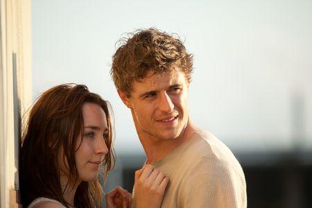 Melanie (Saoirse Ronan) et Jared (Max Iron)