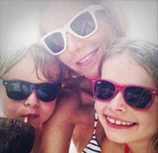 Gwyneth Paltrow et ses enfants