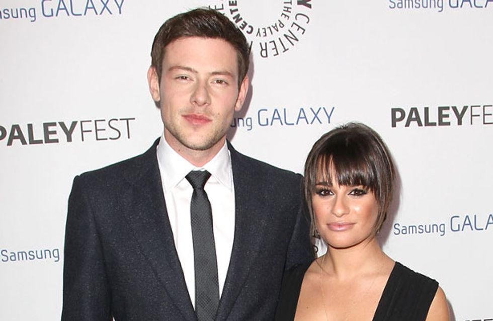 Glee's Lea Michele vows to stand by Cory Monteith after rehab shock