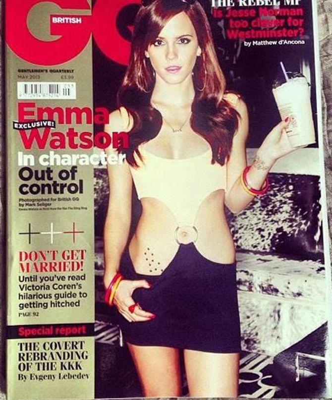 Emma Watson pour GQ