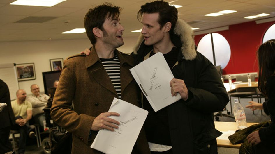 David Tennant and Billie Piper return to Doctor Who for 50th anniversary special