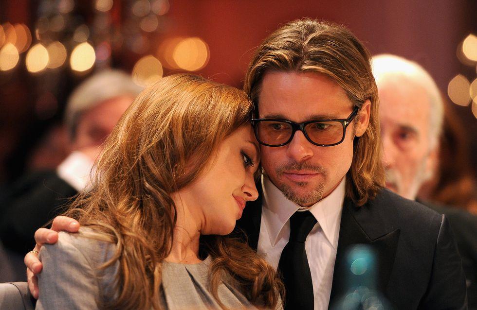 Angelina Jolie : Elle porte l'alliance de l'arrière grand-mère de Brad Pitt