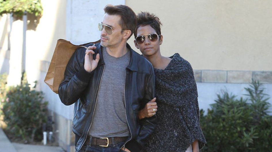"""Olivier Martinez and Halle Berry """"in violent paparazzi scrap"""" at LAX"""