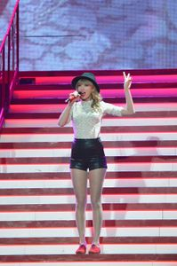Taylor Swift en concert, on copie son look !