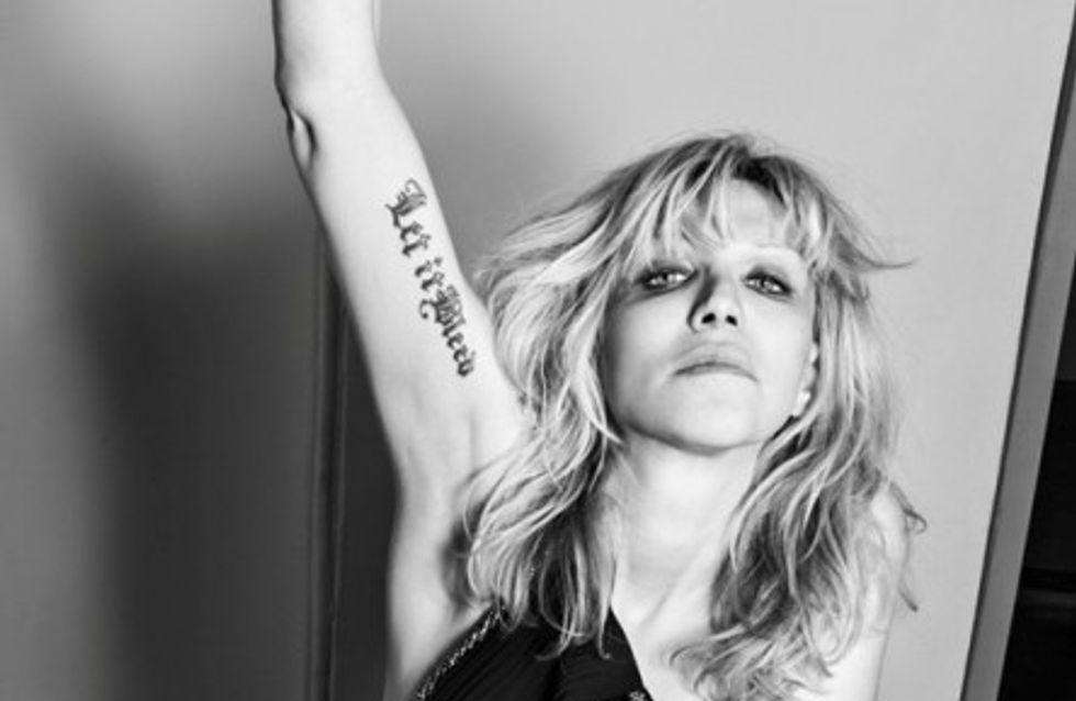 De Manson à Courtney Love, les nouvelles égéries trash de Saint Laurent...