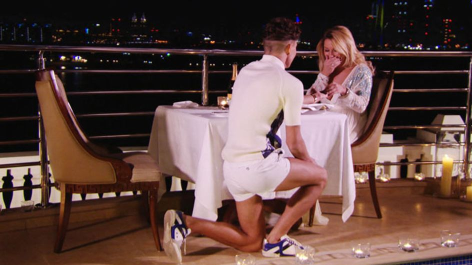 TOWIE news: Joey Essex in tears as he proposes to Sam Faiers