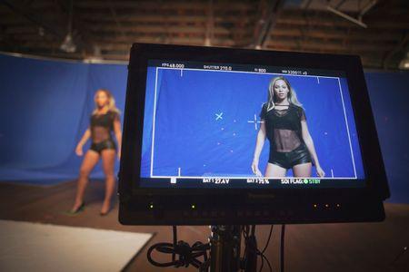Beyoncé sur le tournage de la pub Pepsi