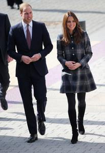 Kate Middleton et le prince William en Ecosse