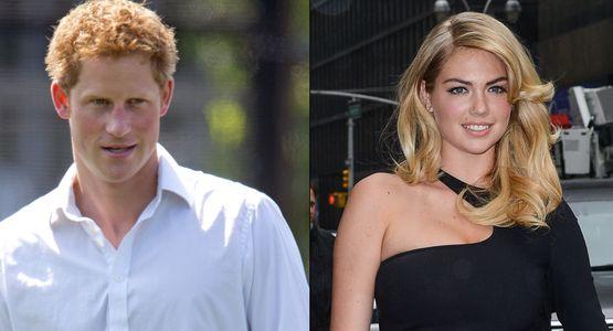 Kate Upton et le prince Harry
