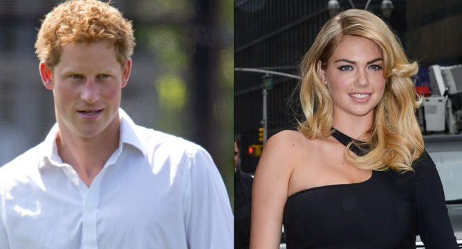 Kate Upton et le prince Harry
