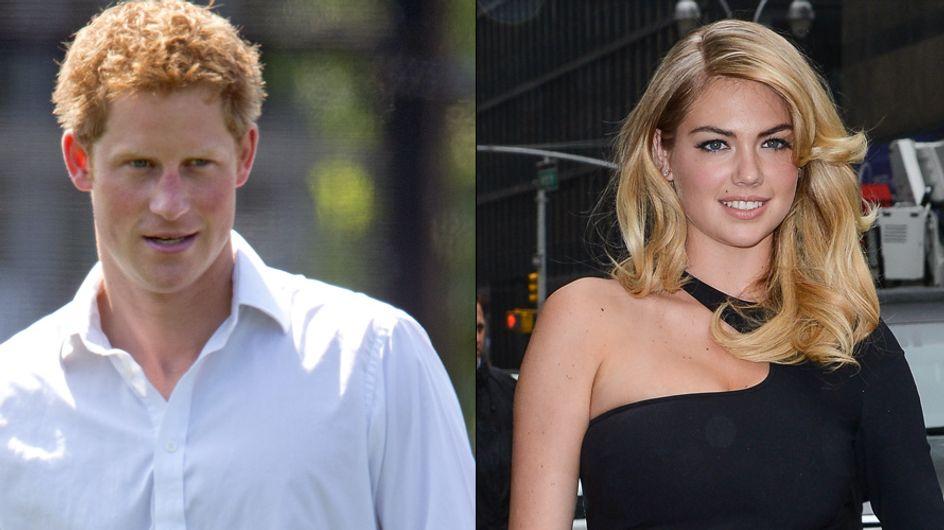 Prince Harry : Kate Upton va le faire chavirer ! (Photos et Vidéos)