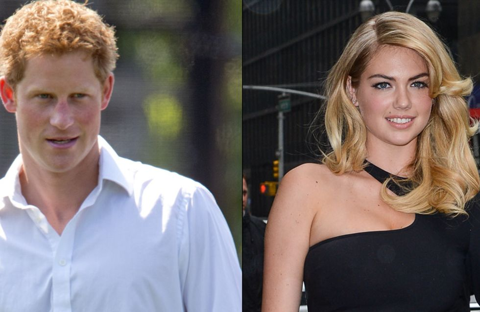 Prince Harry : Kate Upton va le faire chavirer ! (Photos et Vidéos)