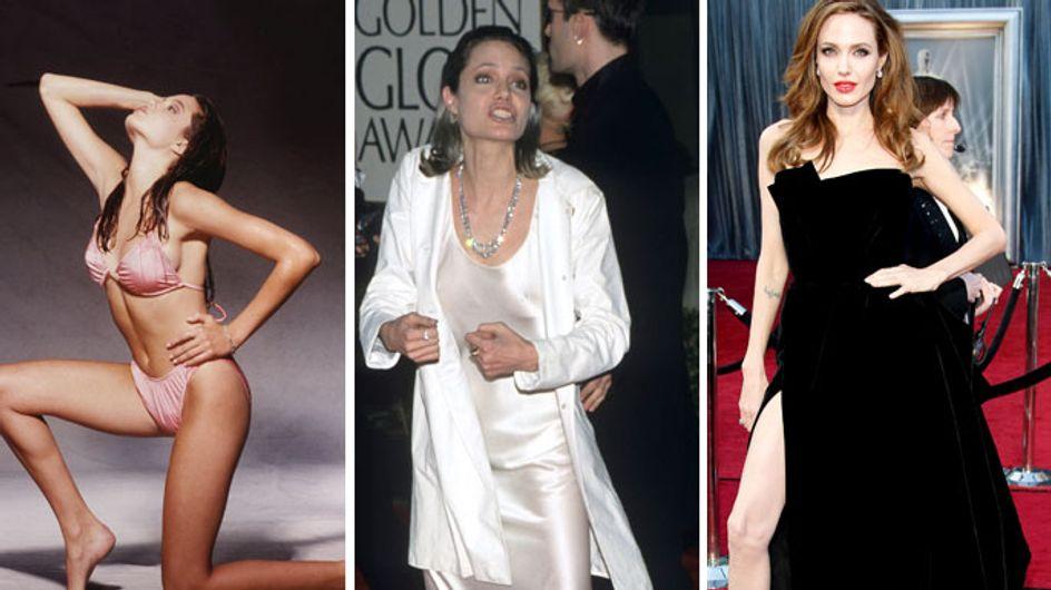 Angelina Jolie : Fragile et rebelle depuis l'enfance (Photos)