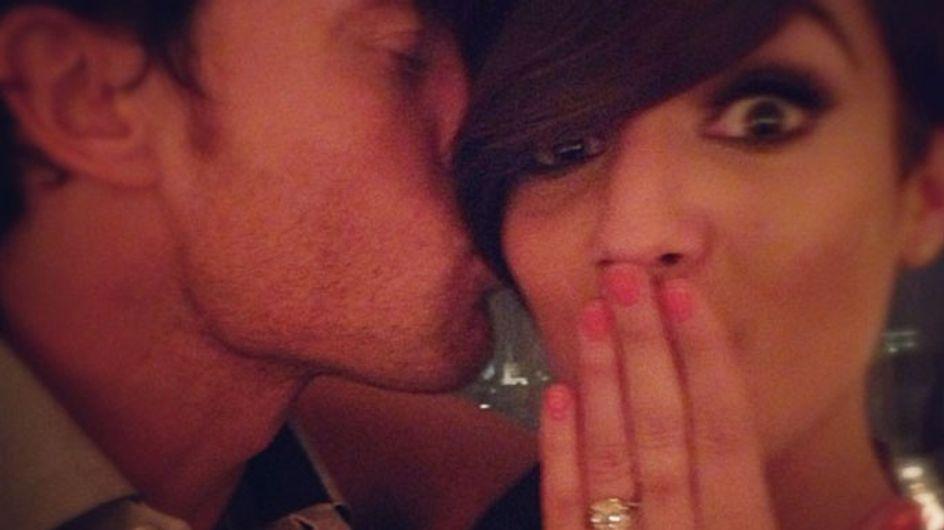 Frankie Sandford gets engaged to Wayne Bridge