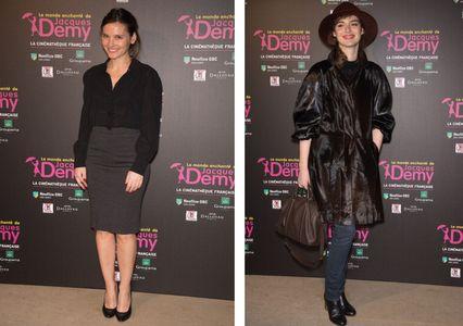 Valérie Ledoyen et Louise Bourgoin : looks noirs
