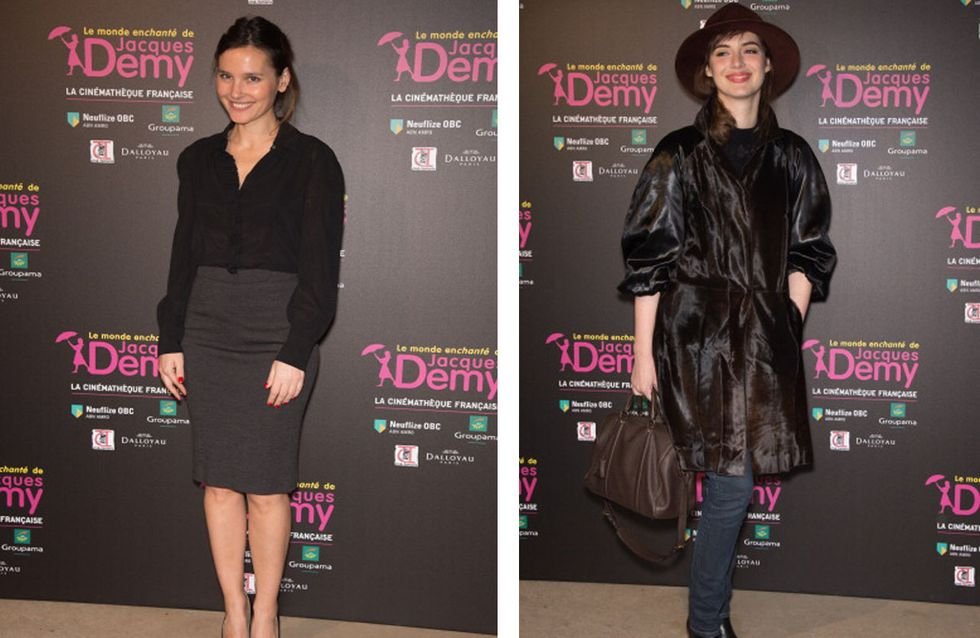 Virginie Ledoyen et Louise Bourgoin : Leurs looks en noir