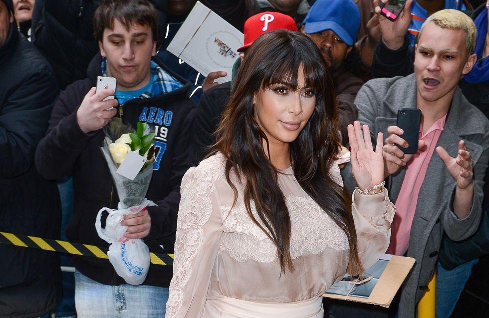 Kim Kardashian : Elle ment sur sa date d'accouchement !