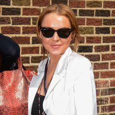Lindsay Lohan cries in TV chat about addiction and rehab