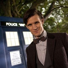 Doctor Who 50th anniversary: Matt Smith lands in Trafalgar Square