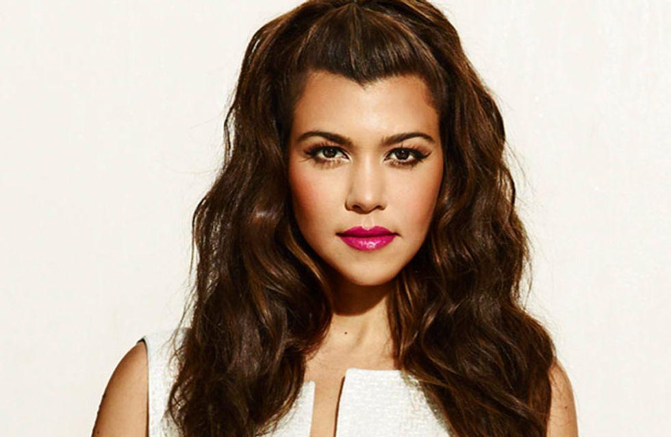 Kourtney Kardashian : Elle s'affiche sans maquillage (photo)