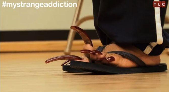 My Strange Addiction : Elle refuse de se couper les ongles !