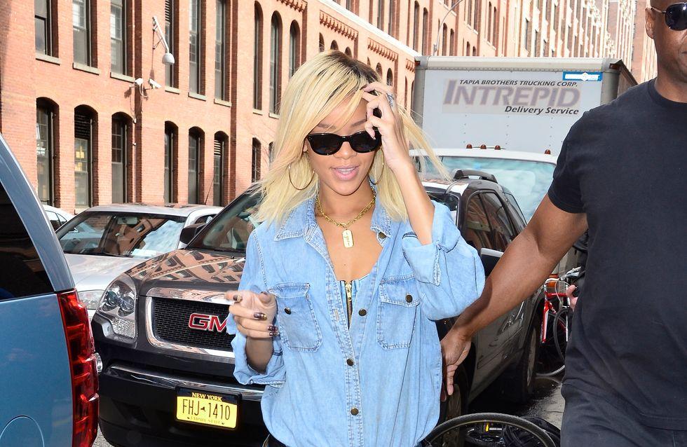 Comme Rihanna, osez le total look denim