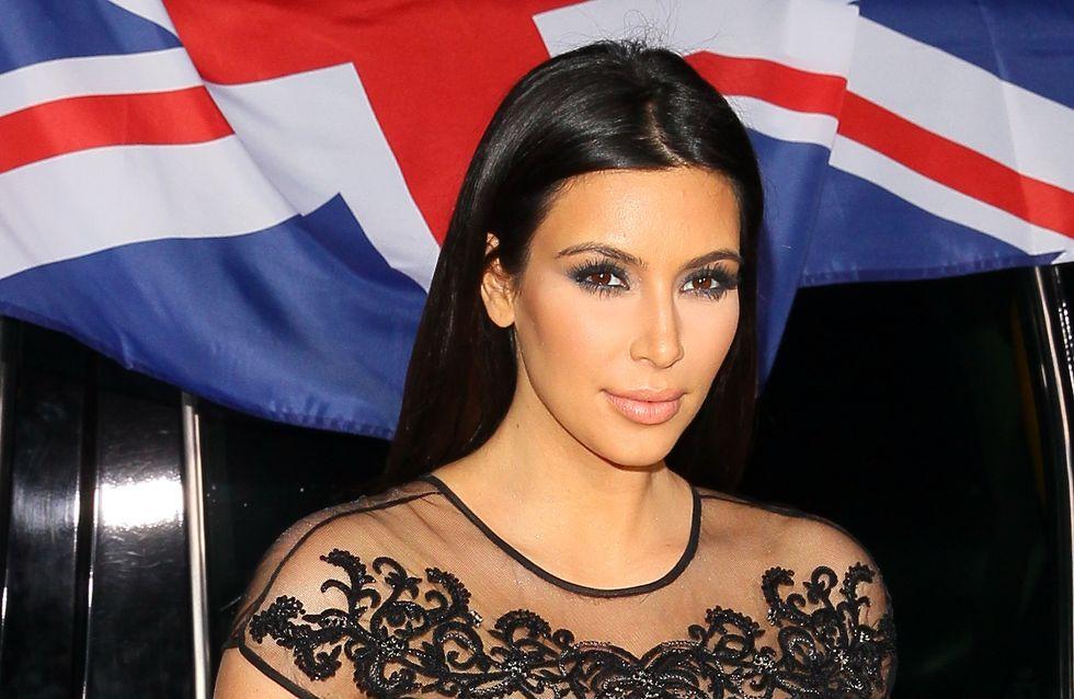 Kim Kardashian enceinte : Elle veut accoucher à Paris !