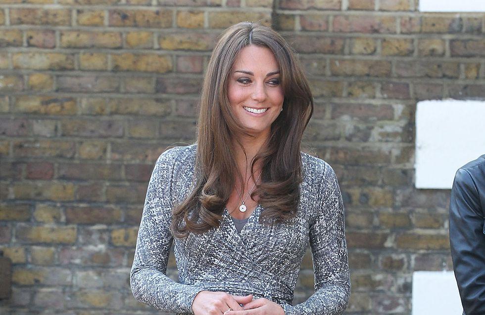 Kate Middleton : Pourquoi on ne voit pas son ventre s'arrondir